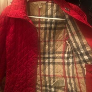 Burberry xs quilted jacket women